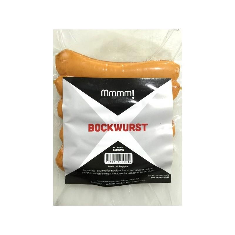 Mmmm! Pork Bockwurst