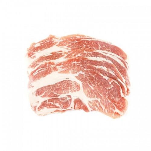 Kurobuta Pork Collar Shabu Shabu, USA