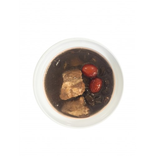 Traditional Black Bean Pork Ribs Soup