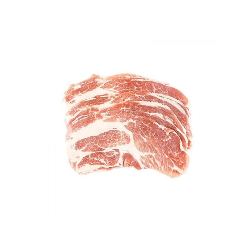 Iberico Pork Collar Shabu Shabu, Spain 200gm