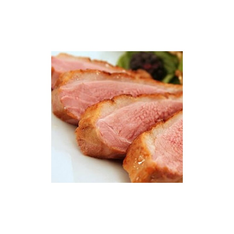 Black Pepper Smoked Duck Breast