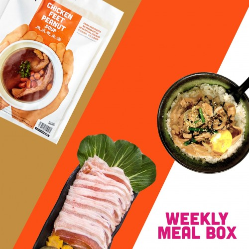 Weekly Meal Box For 6