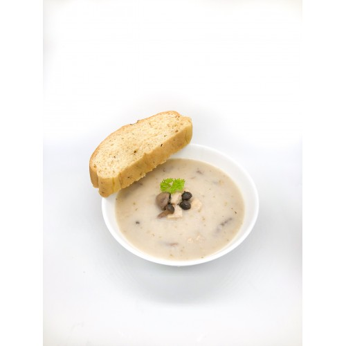 Hearty Chicken Mushroom Soup