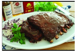 Bourbon BBQ U.S. Pork Ribs