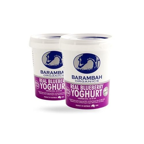 Barambah Yoghurt - Blueberry 200g