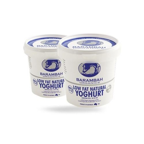 Barambah Yoghurt - Low Fat Natural 99% Fat Free 500g