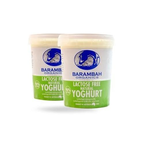 Barambah Yoghurt - Lactose Free 500g