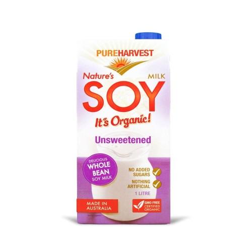 Pureharvest Organic Soy Milk (1L)