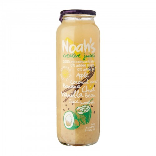 NOAH'S - COCONUT WATER - CHIA VANILLA BEAN - 260ML