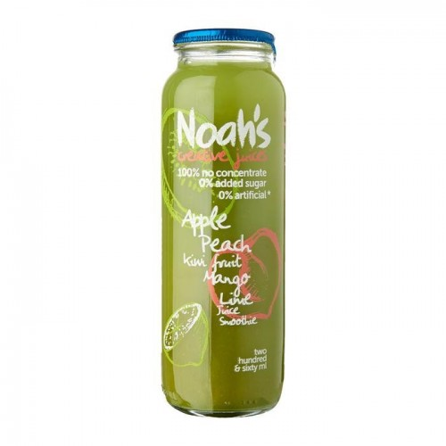 NOAH'S - COCONUT WATER - NECTARINE & APPLE - 260ML