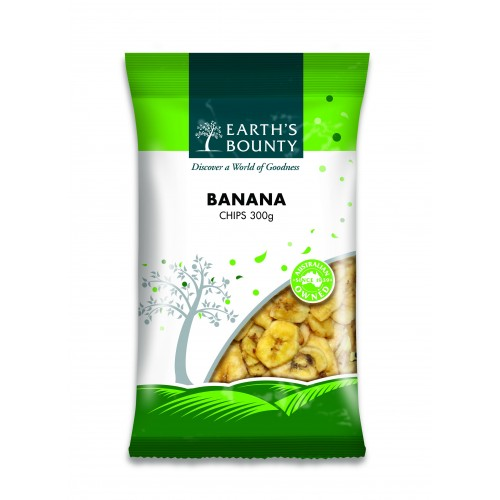 Earth's Bounty Banana Chips (300g)