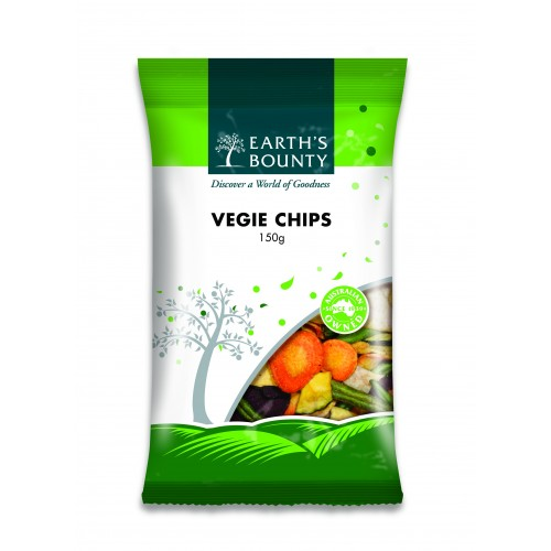 Earth's Bounty Vegie Chips (150g)
