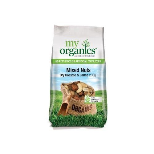 My Organics Mixed Nut Dry Roasted & Salted (200g)