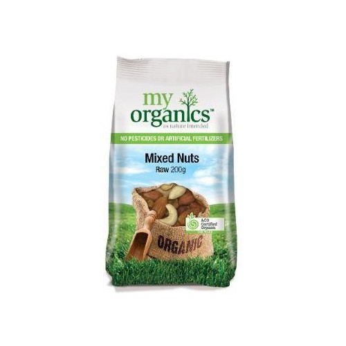 My Organics Mixed Nut Raw (200g)