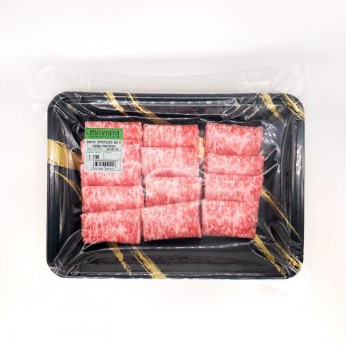 Fresh Shabu - AUS Wagyu 8/9 Striploin Shabu / Yakiniku (125g)