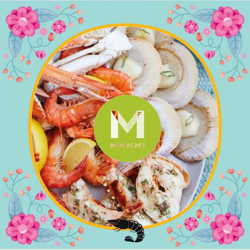 *Festive* Seafood Platter (4-5 Pax)