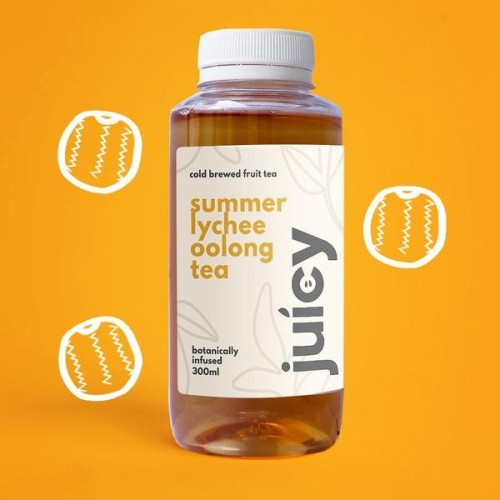 JUICY FOLKS, SUMMER LYCHEE OOLONG TEA - 300ML
