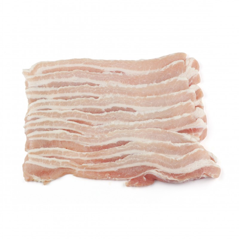 Sliced Skinlees Pork Belly 3mm