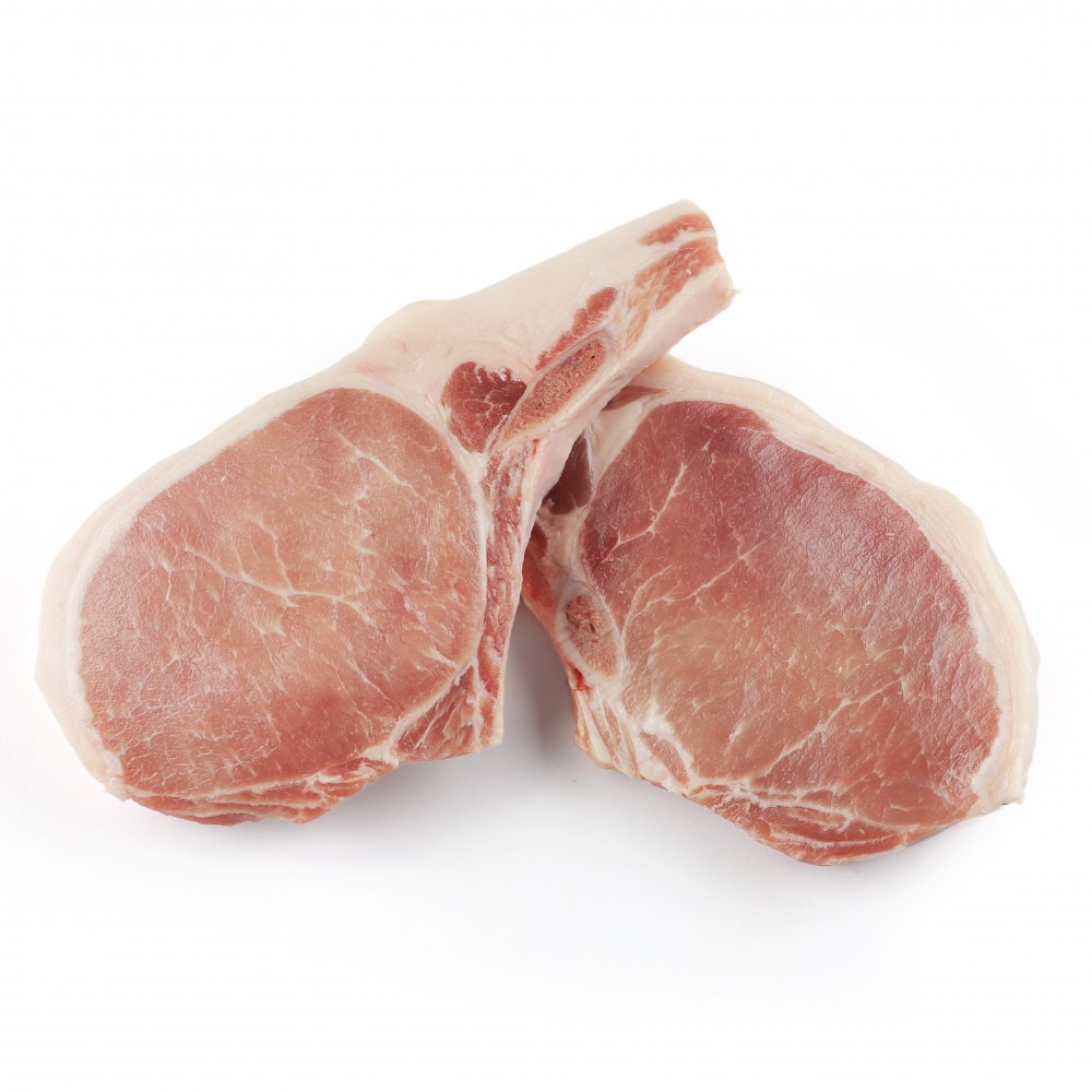 how to cook thick pork chops with bone