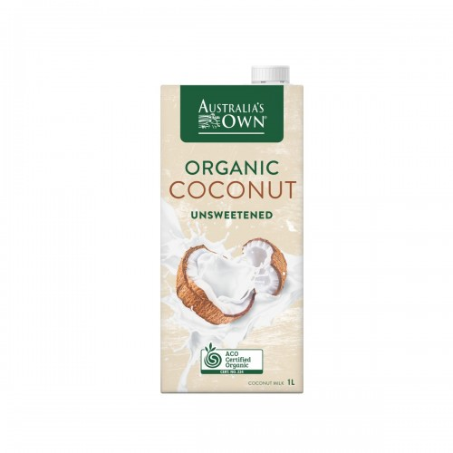 Australia's Own Unsweetened Organic Coconut Milk (1L)