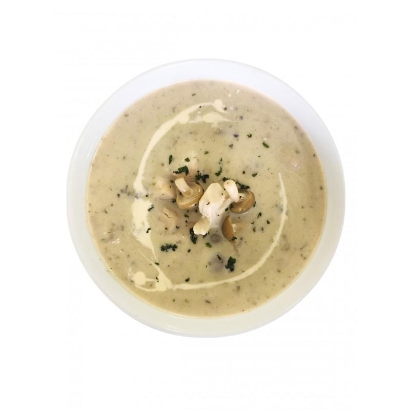 Hearty Chicken Mushroom Soup