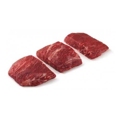 Chilled US Angus Flat Iron Steak, Choice,National