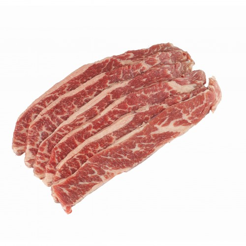 Sliced Beef Short Ribs, Boneless, USDA