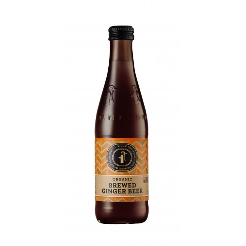 Organic Brewed Ginger Beer 1 dozen