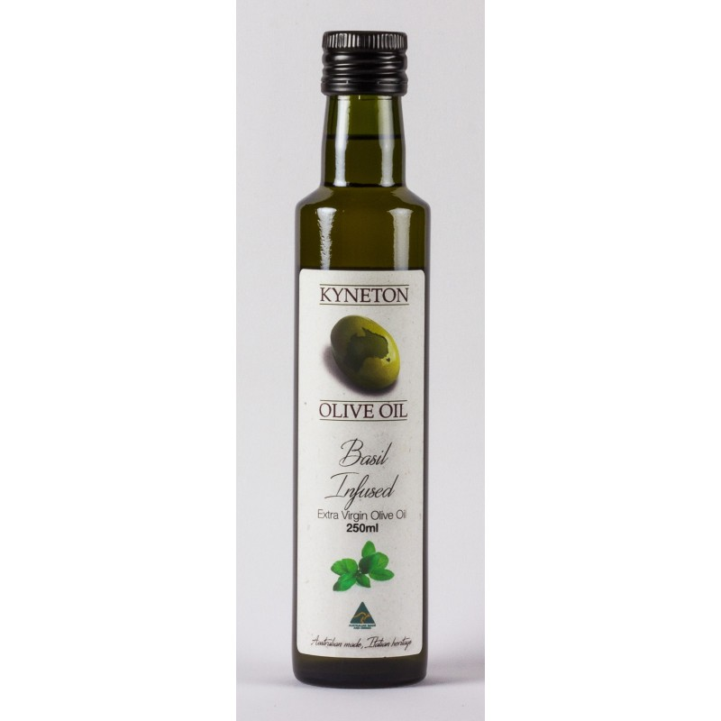Basil Infused Extra Virgin Olive Oil (Agrumato)