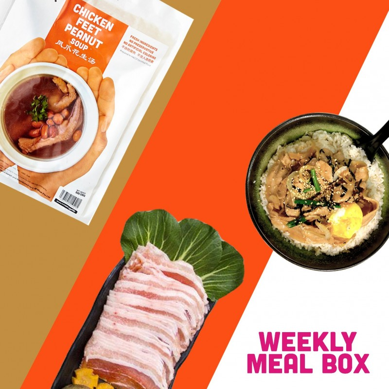 Weekday Dinner Box For 2