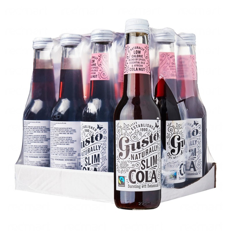 Gusto Organic Slim Cola Bundle - 12 bottles