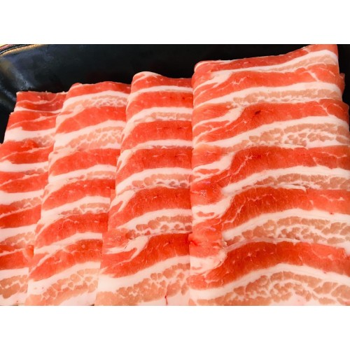 Fresh Shabu - Kurobuta Pork Belly Shabu Shabu, USA